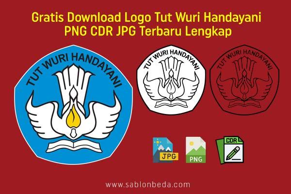Download logo Tut Wuri Handayani PNG CDR JPG untuk SD SMP SMA