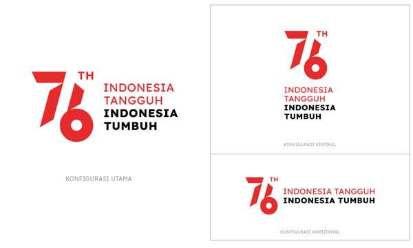 konfigurasi logo hut ri 76 2021 png