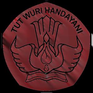 logo tut wuri handayani hitam putih