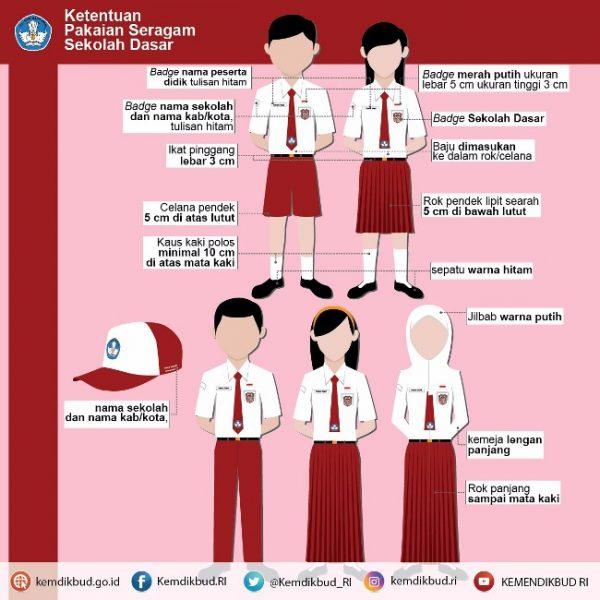 logo tut wuri handayani sd merah Seragam sekolah