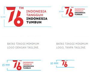 ukuran minimum logo hut ri 76 2021 png