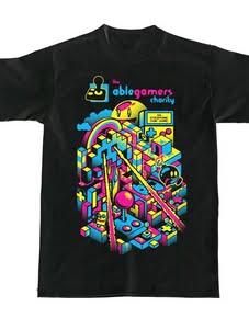 Desain sablon Kaos untuk Amal dan Organisasi