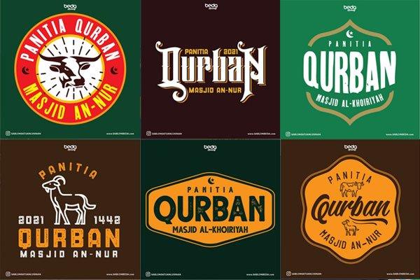 Inspirasi Desain Logo Kaos Qurban Keren Terbaru Update