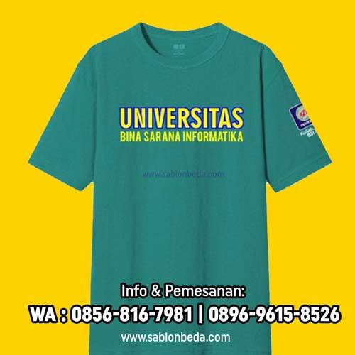 Kaos Ormik UBSI BSI 2021 terbaru warna biru tosca lengan pendek